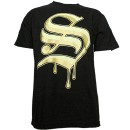 Stevie Stone - Black Logo Team Stone T-Shirt