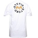 Stevie Stone - White Lion T-Shirt