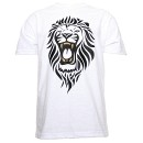Stevie Stone - White Lion T-Shirt - 3-XL