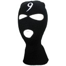 Tech N9ne - Black  Embroidered 3 Hole Ski Mask