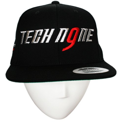 Tech N9ne - Black Everready 10th Anniversary Hat Snapback