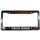 Tech N9ne - Black License Plate Frame