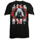 Tech N9ne - Black Paisley Portrait T-Shirt - Large