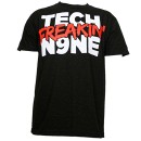 Tech N9ne - Black Tech Freakin N9ne T-Shirt - Medium