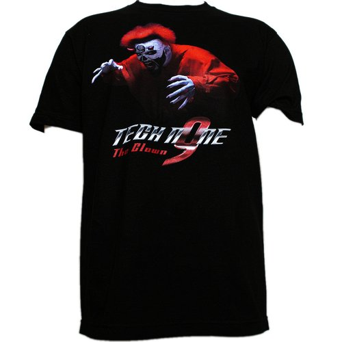 Tech N9ne - Black The Clown Full Color T-Shirt
