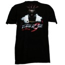 Tech N9ne - Black The King Full Color T-Shirt - Medium
