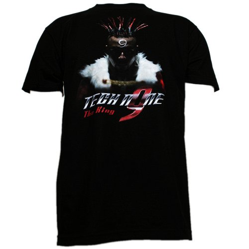 Tech N9ne - Black The King Full Color T-Shirt