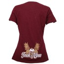 Tech N9ne - Burgandy Caribou Lou Ladies T-Shirt