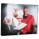"Tech N9ne - Cards 8""x10"" Canvas Print"