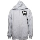 Tech N9ne - Heather Gray Mask Zip Hoodie - 2-XL