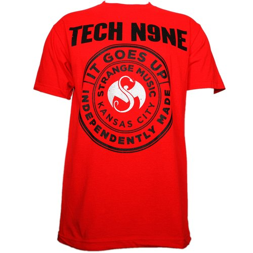 Tech N9ne - Red Independently Made T-Shirt