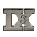 Tech N9ne - Silver IX Car Emblem