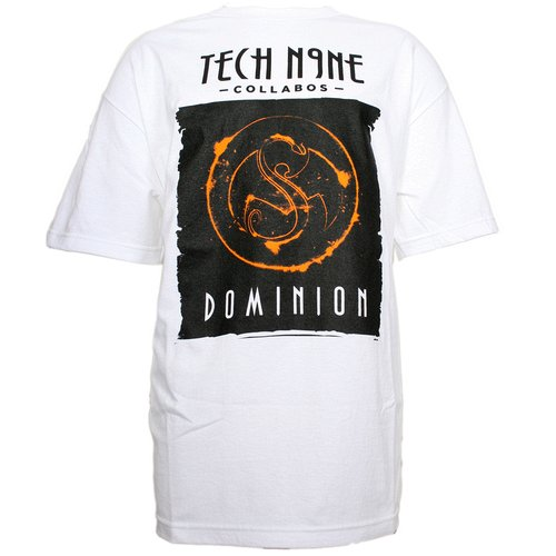 Tech N9ne - White Dominion Presale T-Shirt