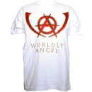 Tech N9ne - White Worldly Angel T-Shirt - 2-XL