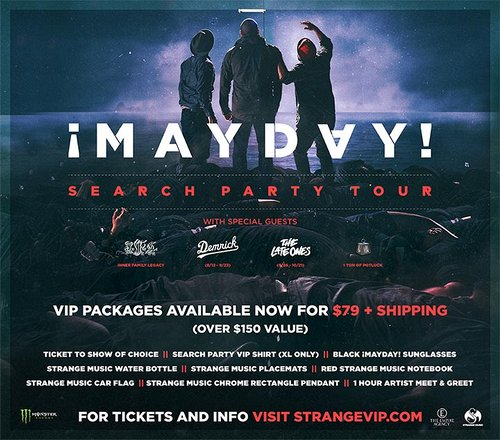 Mayday search party tour 2017 strange music inc store search party tour 2017 strange music inc store m4hsunfo