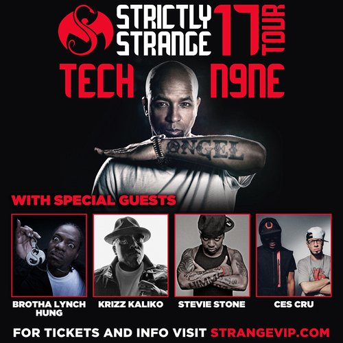 Strictly Strange Tour 2017 - 2017-04-12 - Selland Arena - (w/ Bone Thugs-N-Harmony) - Fresno, CA