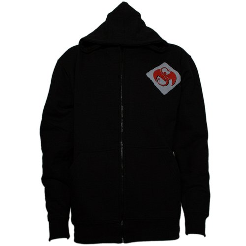 0f3697e31e87 Strange Music - Black Stagger Zip Hoodie
