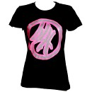 Brotha Lynch Hung - Ladies Black with Pink Logo T-Shirt - Ladies Medium