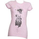 Brotha Lynch Hung - Ladies Pink Diagram T-Shirt - Ladies Large