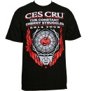 Ces Cru - Black 2014 Tour T-Shirt - Medium