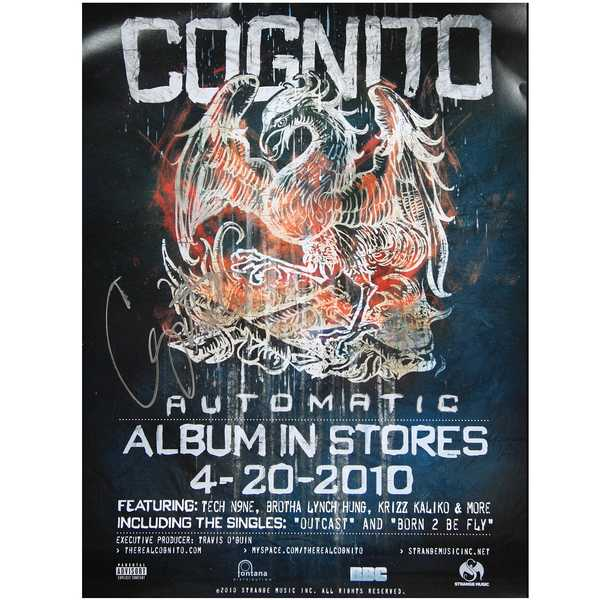 Cognito - Automatic - Autographed Poster
