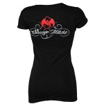 Kutt Calhoun - Ladies Black T-Shirt Sparrow