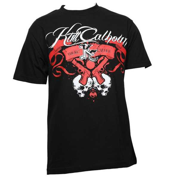 Kutt Calhoun - Black Scroll T-Shirt