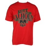 Kutt Calhoun - Red T-Shirt Starbwire - Medium