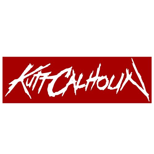 Kutt Calhoun - White Individual Letters Decal