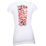 Kutt Calhoun - Ladies White Marker T-Shirt
