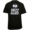 Krizz Kaliko - Black Spider Face T-Shirt