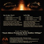 Krizz Kaliko - Do It Like I Do It / Let's Dip CD Single