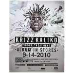 Krizz Kaliko - Autographed Shock Treatment Poster