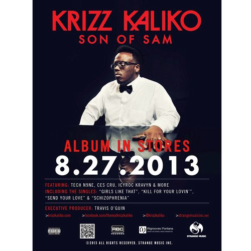 Krizz Kaliko - Son of Sam Poster