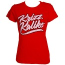 Krizz Kaliko - Ladies Red Krizz Kaliko T-Shirt - Ladies Small