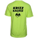 Krizz Kaliko - Safety Green Smiley T-Shirt
