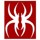 Krizz Kaliko - White Spider K Decal