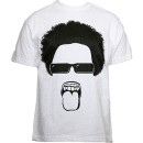 Krizz Kaliko - White Unattached T-Shirt - Large