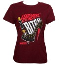 ¡MAYDAY! - Maroon Hardcore Bitch Ladies T-Shirt - Ladies Small