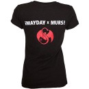 ¡MURSDAY! - Black Logo Bombs Ladies T-Shirt