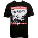 ¡MURSDAY! - Black Tour 2014 T-Shirt - Large