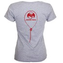 ¡MURSDAY! - Gray Logo Balloons Ladies T-Shirt
