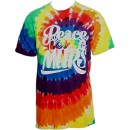 Murs - Peace Love Murs Tie-Dye T-Shirt - Extra Large
