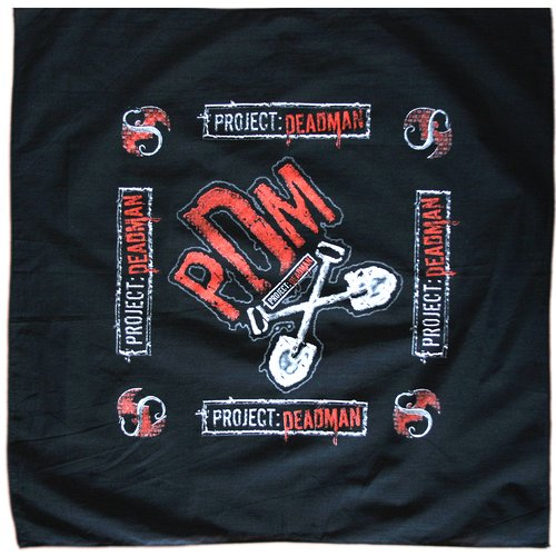 Project Deadman - Black Bandana