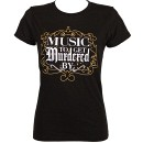 Prozak - Black Music T-Shirt - Ladies Medium