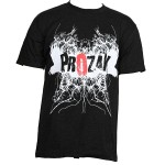 Prozak - Black Static T-Shirt