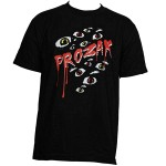 Prozak - Black Eyeballs T-Shirt - Medium