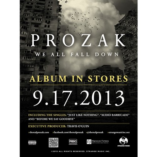 Prozak - We All Fall Down Poster