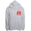 Rittz - Gray Hair Zip Hoodie - Large