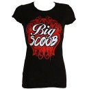 Big Scoob - Ladies Black T-Shirt - Ladies X Large
